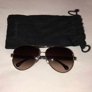 Chanel Aviator Sunglasses